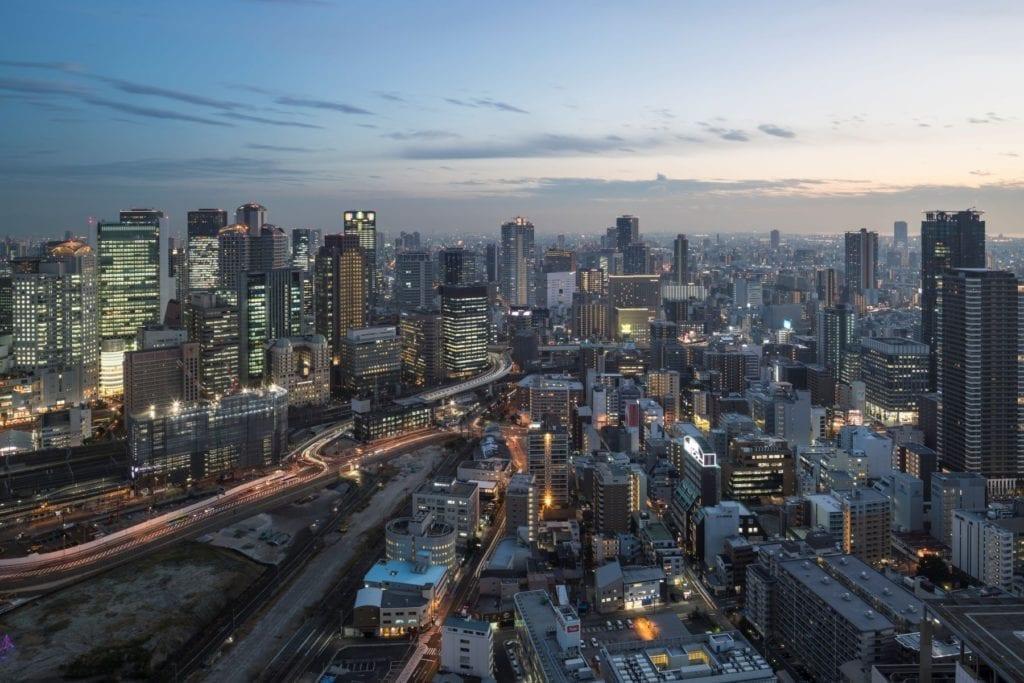View from Umeda Sky Building, Osaka, Julian Elliott