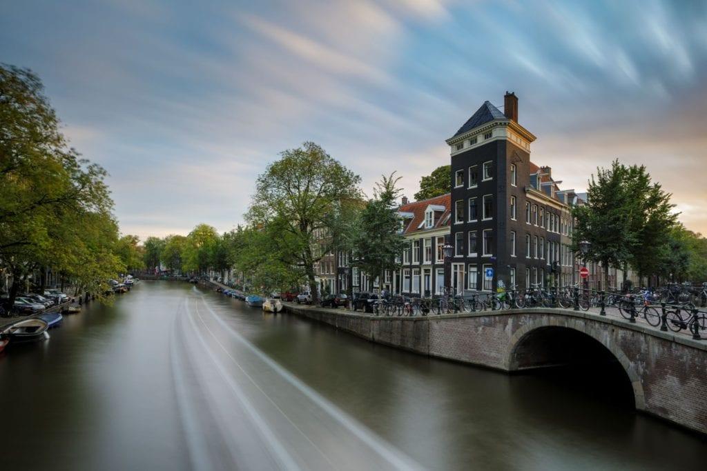 The Prinsengracht canal, Amsterdam, Julian Elliott