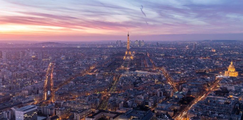 View from Tour Montparnasse, Paris, Julian Elliott