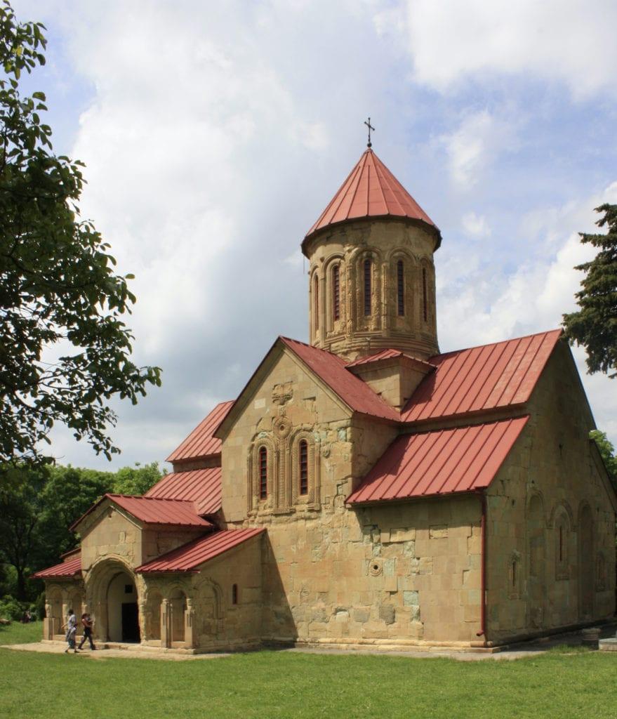 Betania Monastery Georgia by Gaeser Wikimedia Commons