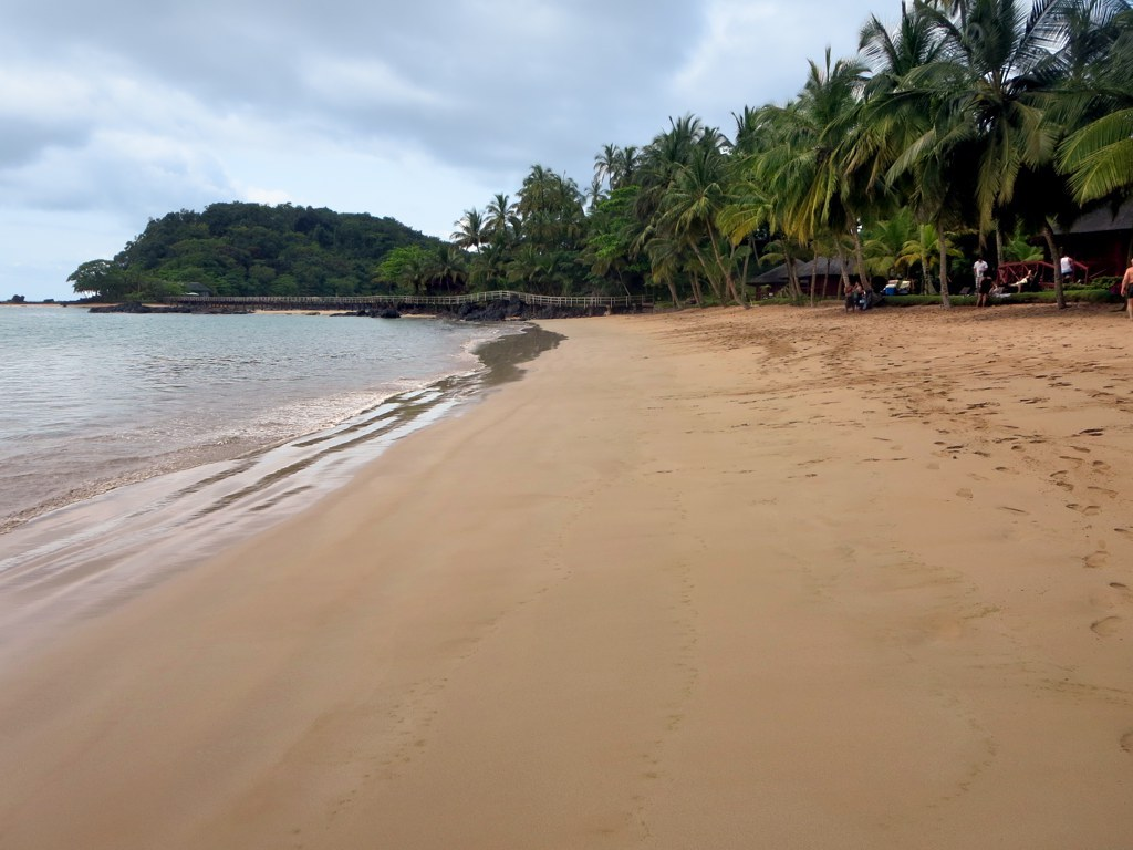 Bom Bom Island Beach Resort Sao Tome Principe by David Stanley Wikimedia