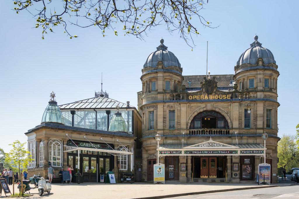 Buxton Opera House Buxton Peak District by Steve Cordory Shutterstock