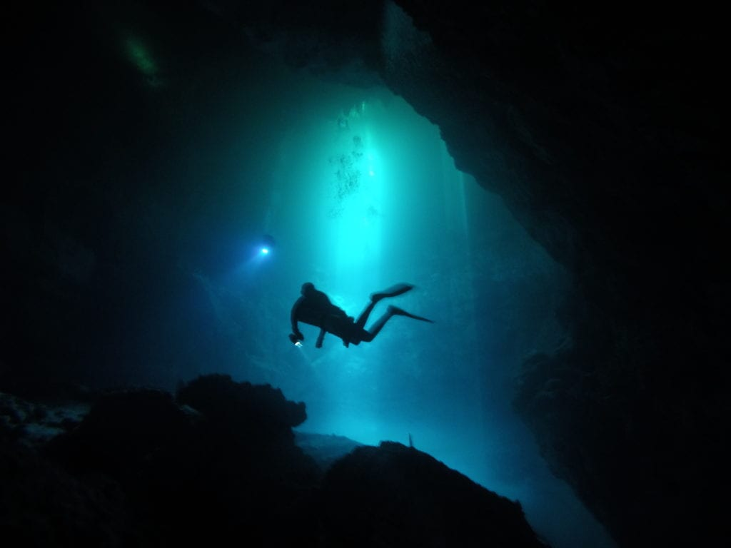 Cenotes Underwater Tulum Mexico by Ben Thompson