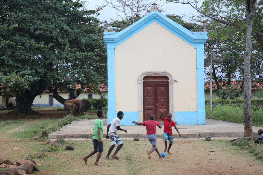 Church Ilheu das Rolas Sao Tome Principe by BOULENGER Xavier Shutterstock