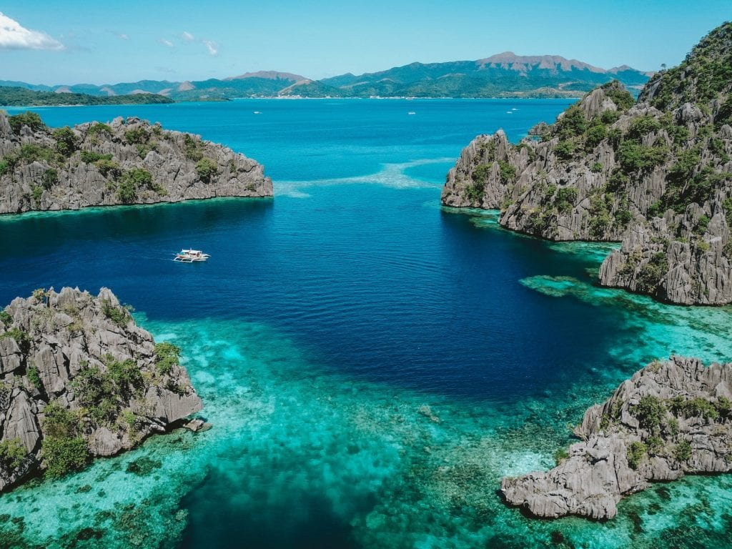 Coron Bay Palawan Philippines by John Hernandez Unsplash