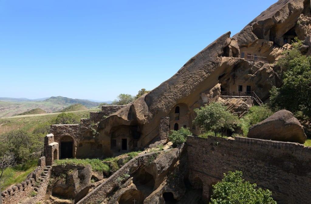 Davit Gareja Cave Monastery Georgia by Ilia Torlin, Shutterstock