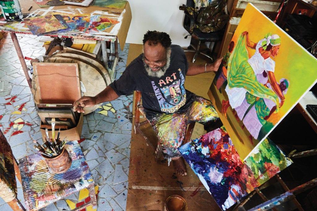 Dominica Art Earl Etienne by Marica Honychurch