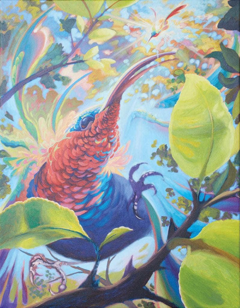 Dominica Art Lowell Royer by Waitukubuli Artist Association