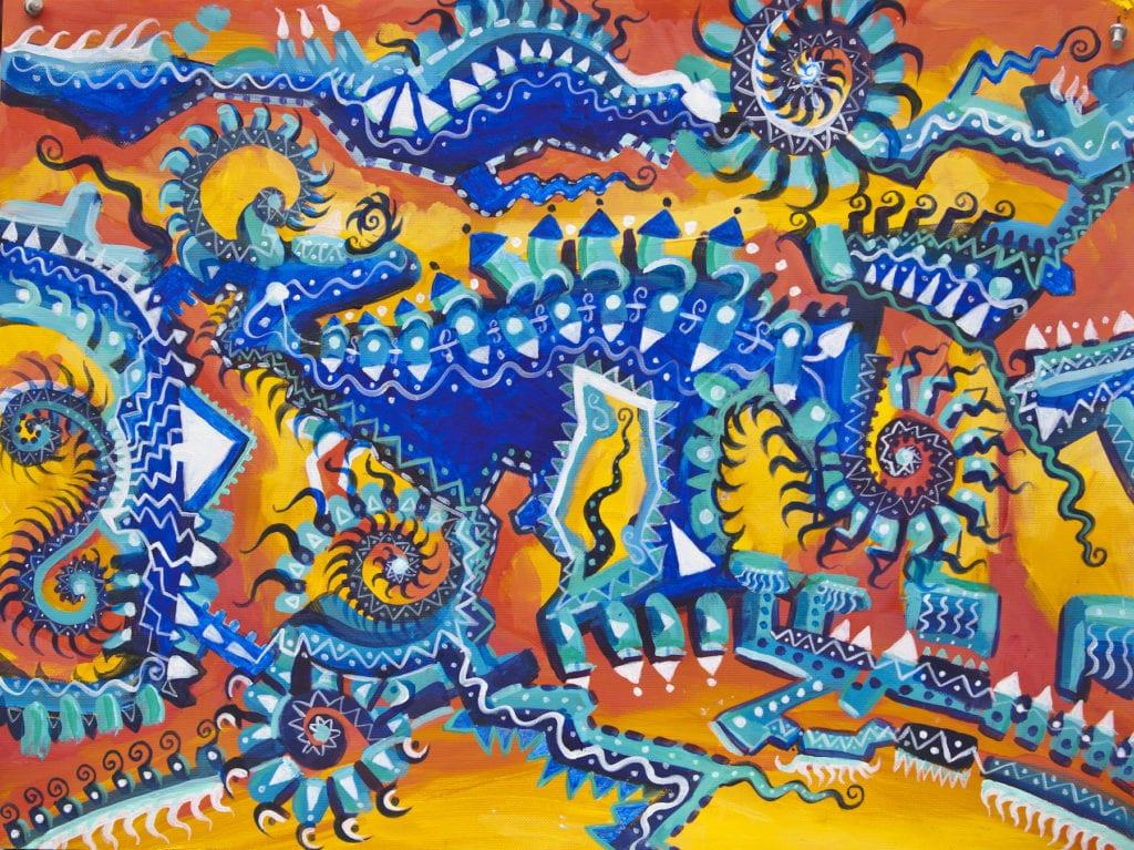 Dominica Art Michelle Murphy by Lu Szumskyj