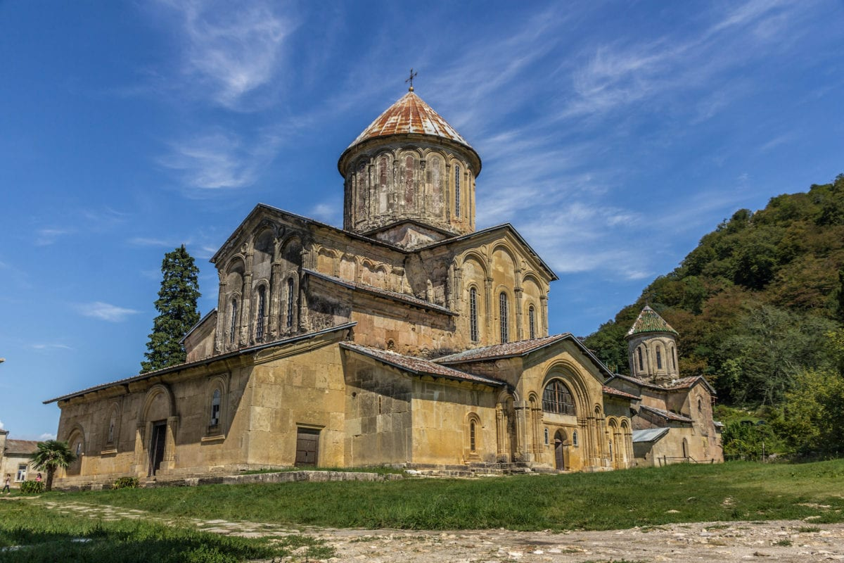 Gelati Monastery Georgia by nsafonov Shutterstock