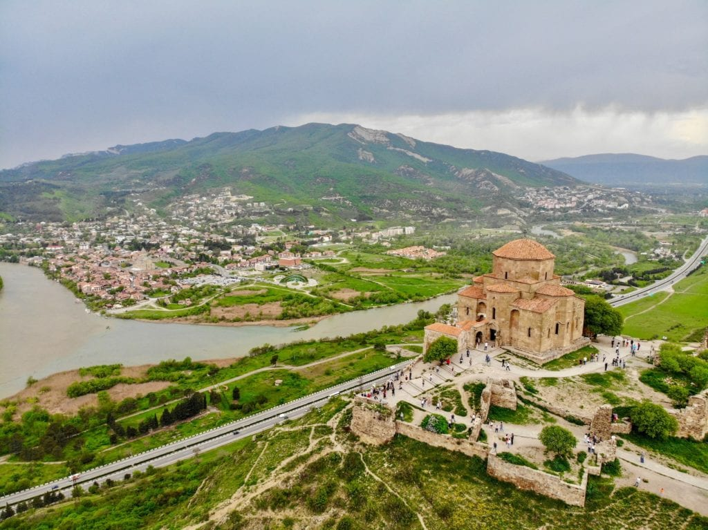 Jvari Monastery Mtskheta Georgia by Diego Unsplash
