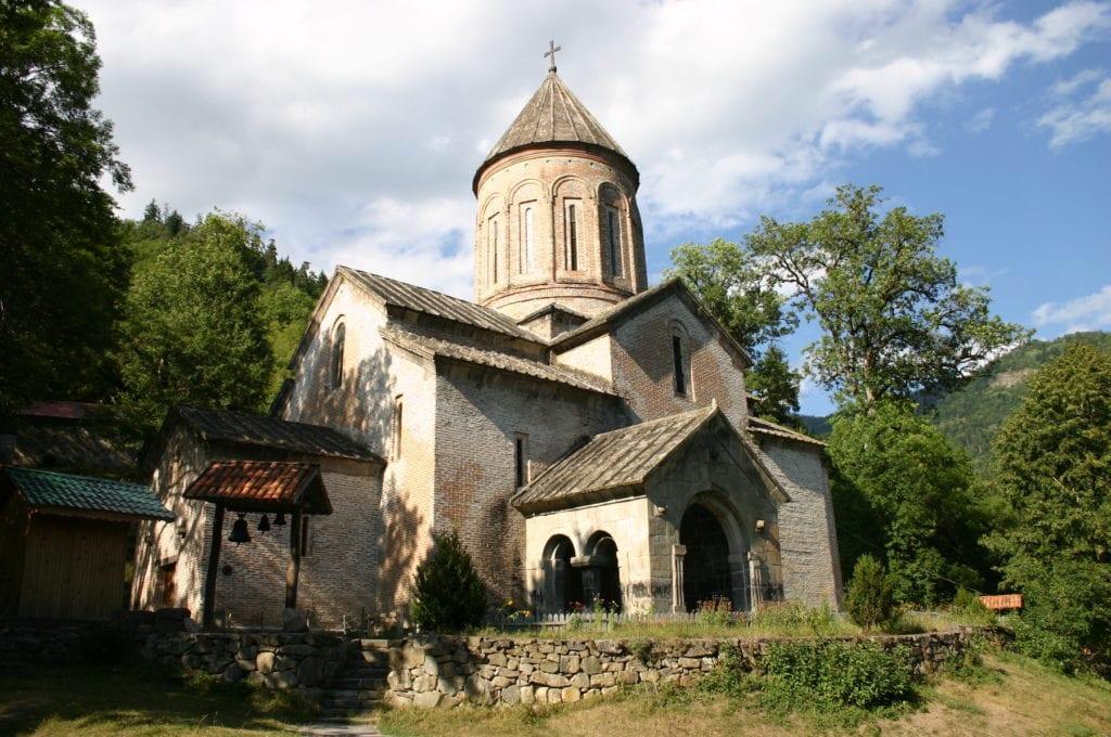 Monastery of St Timothy Timotesubani Georgia by Jonathan Cardy Wikimedia Commons