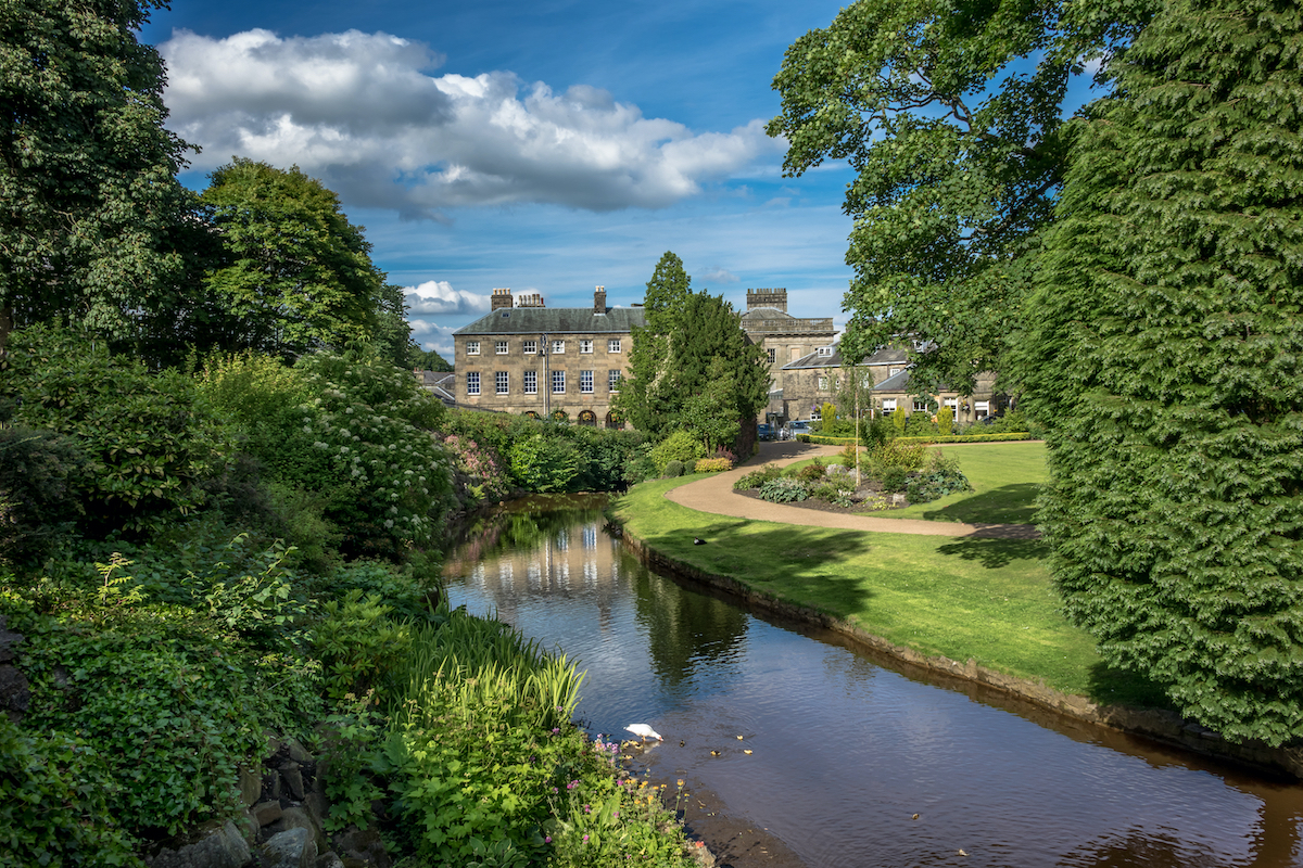 Pavilion Gardens Buxton Peak District by Marbury Shutterstock