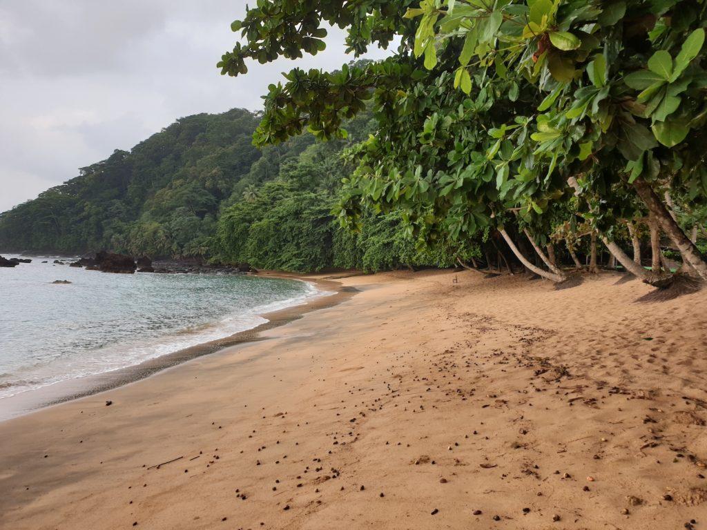 Praia Jale Sao Tome Principe by Tilman Schimmel