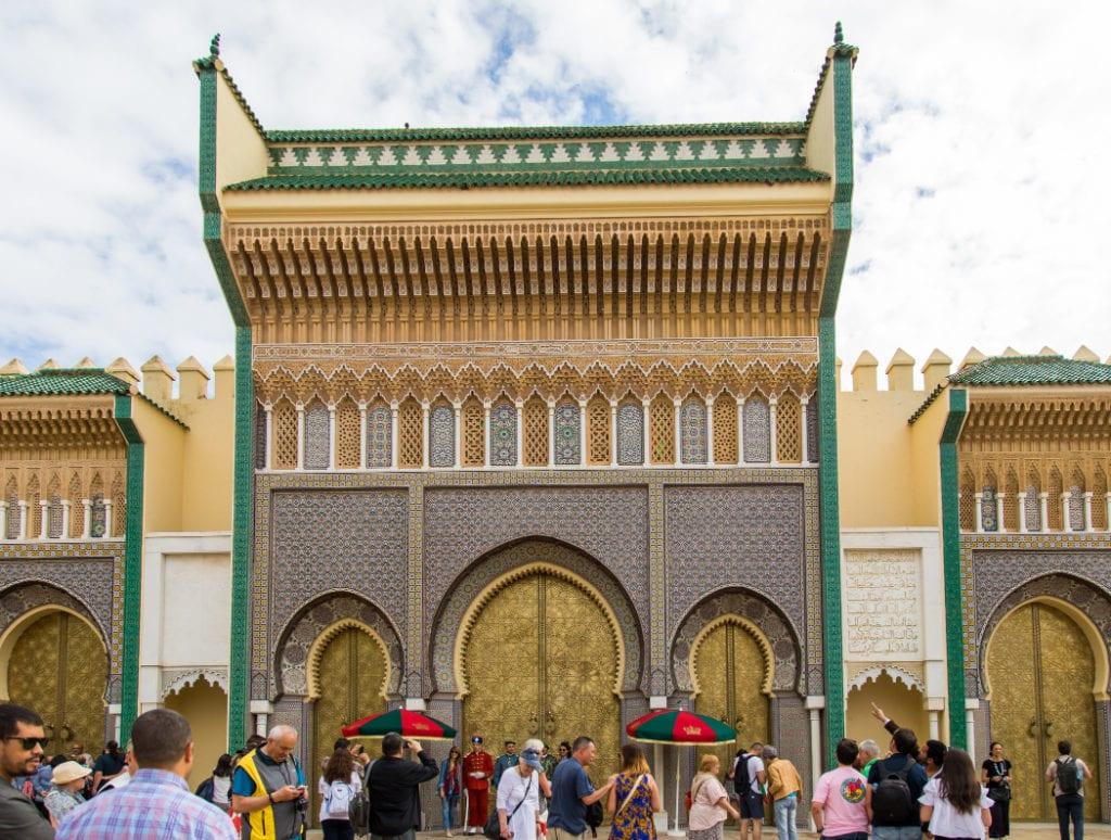 Royal Palace Fez Morocco Bharat Patel