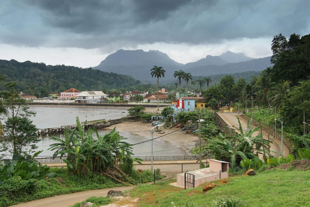 Santo Antonio capital of Principe Sao Tome Principe by alfotokunst, Shutterstock