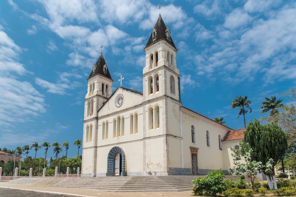 Sao Tome Cathedral Sao Tome Principe by Pascale Gueret Shutterstock