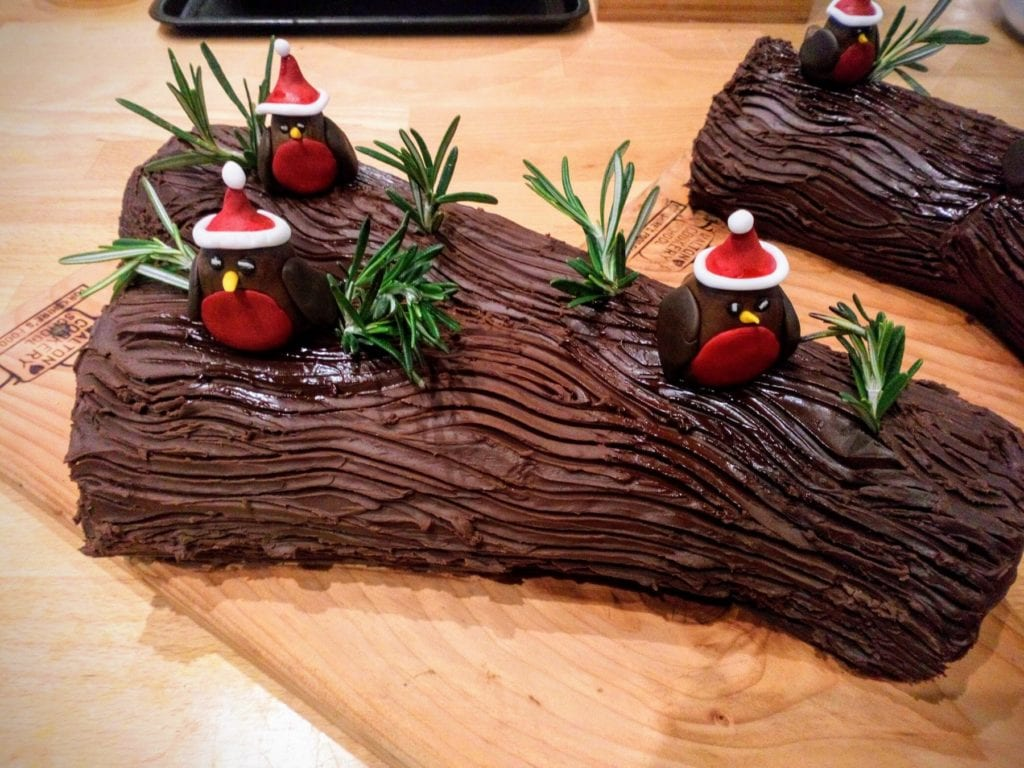 The Cook's Place Yule Log by Charles Hogge