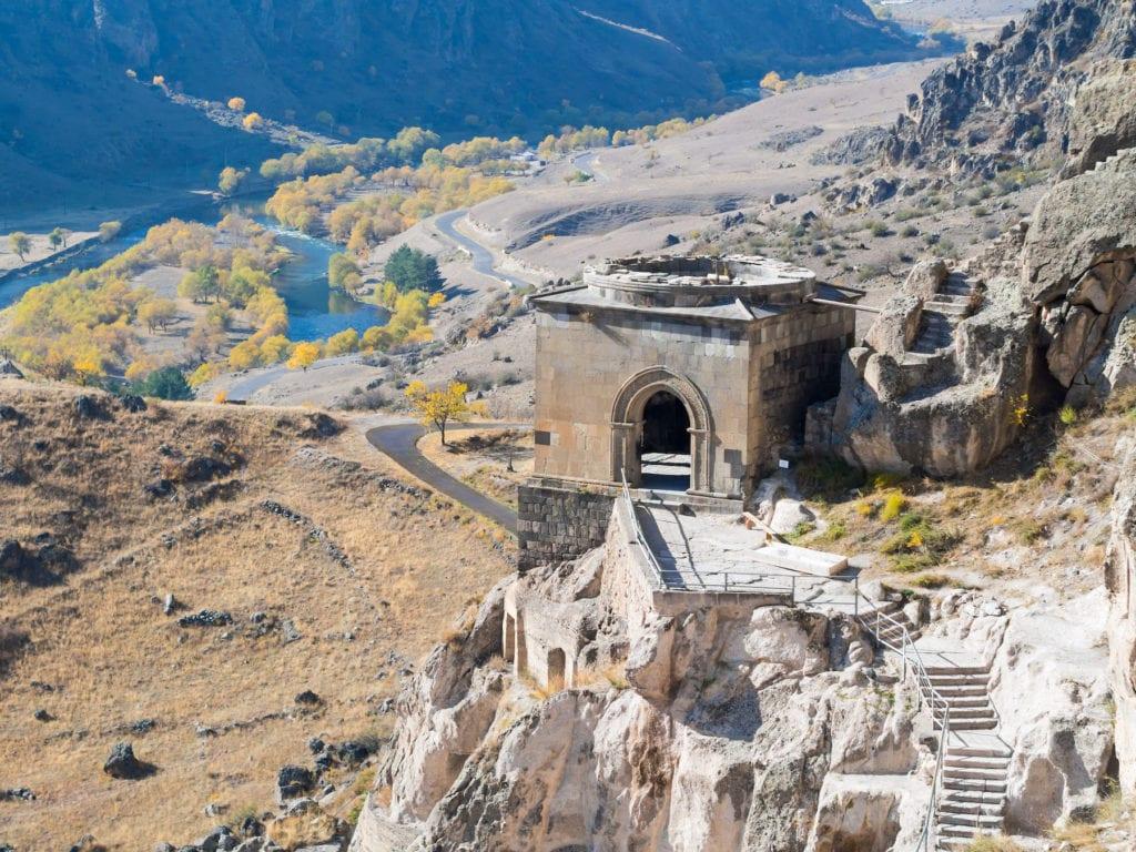 Vardzia Cave city Monasteries Georgia by Magdalena Paluchowska Shutterstock