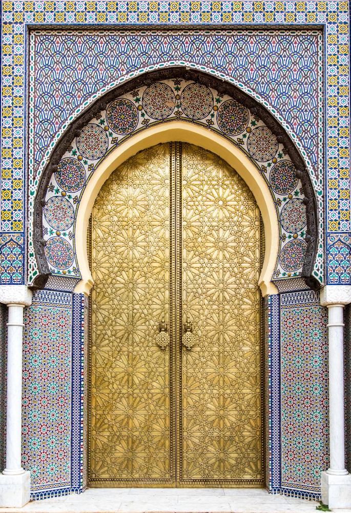 Gate Royal Palace Fez Bharat Patel