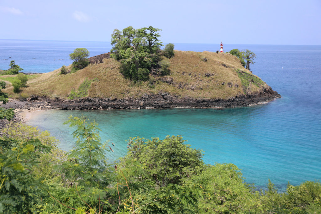 Lagoa Azul Sao Tome island STP by BOULENGER Xavier Shutterstock