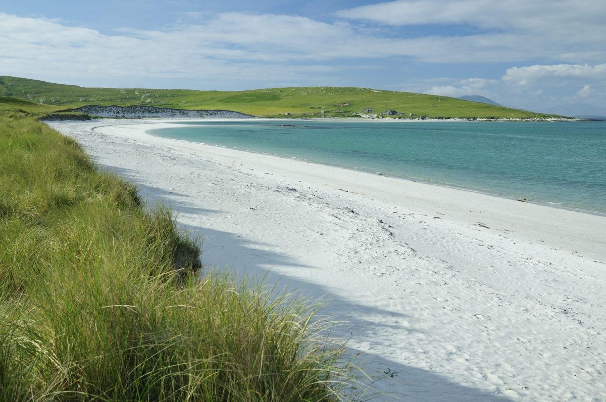 Berneray Beach Outer Hebrides by Martin Fowler Shutterstock