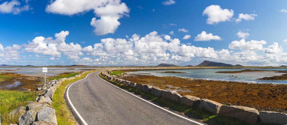 Berneray Causeway Outer Hebrides by EyesTravelling Shutterstock