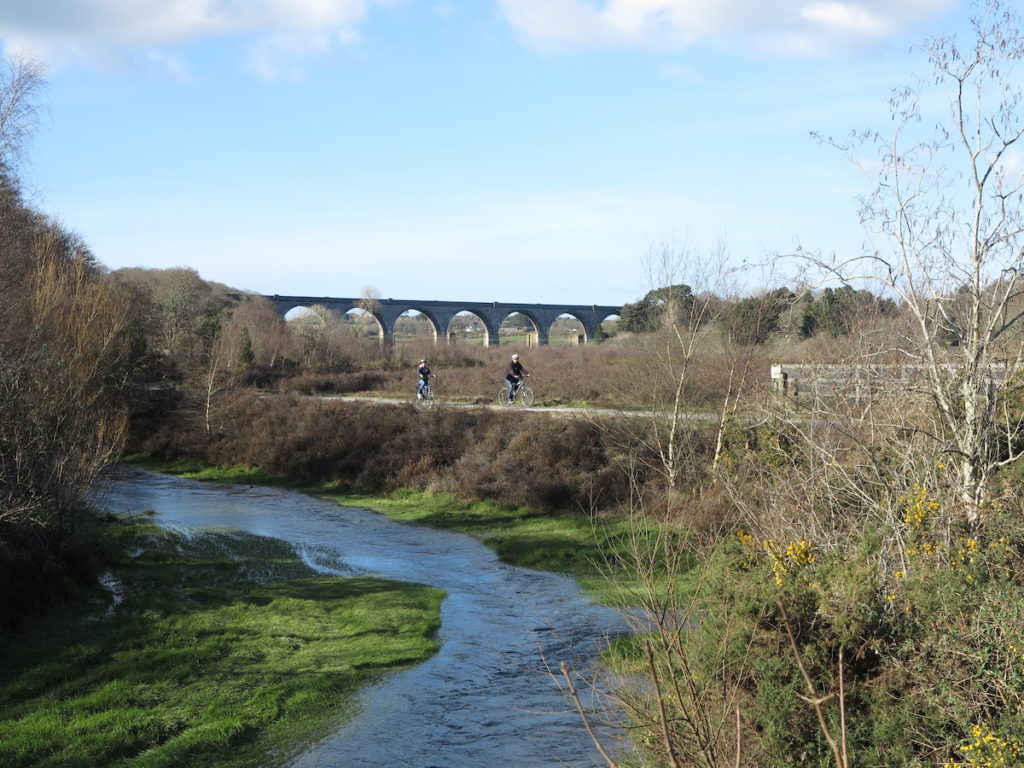 Bissoe Viaduct Cornwall Coast to Coast Trail by Peter Chesworth Mining Villages Regeneration Group