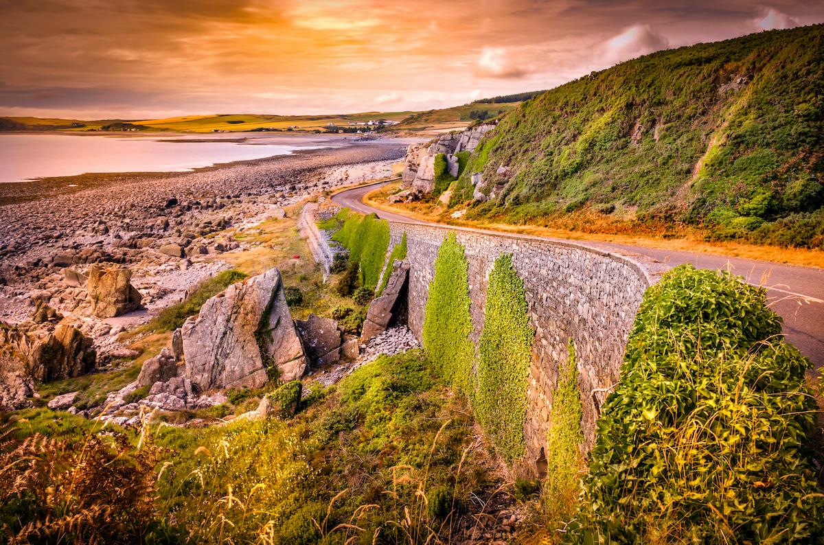 Coastal Road Dumfries and Galloway by jazman Shutterstock