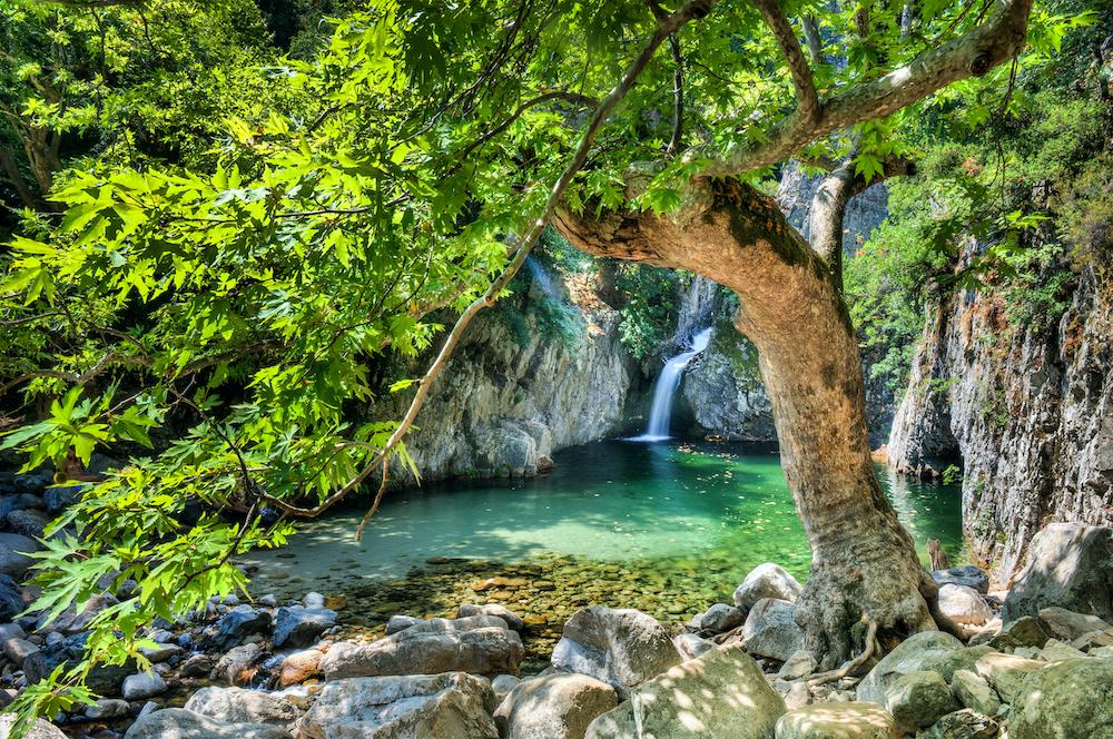 Gria Vathra Therma Samothraki Northern Greece by catalin eremia Shutterstock