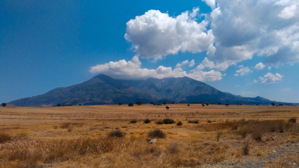 Mount Fengari Samothrace Norther Greece by tombisim Shutterstock