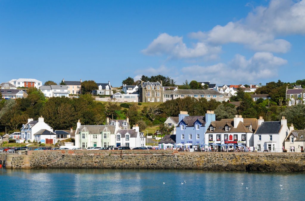 Portpatrick Dumfries and Galloway by pietrowsky Shutterstock