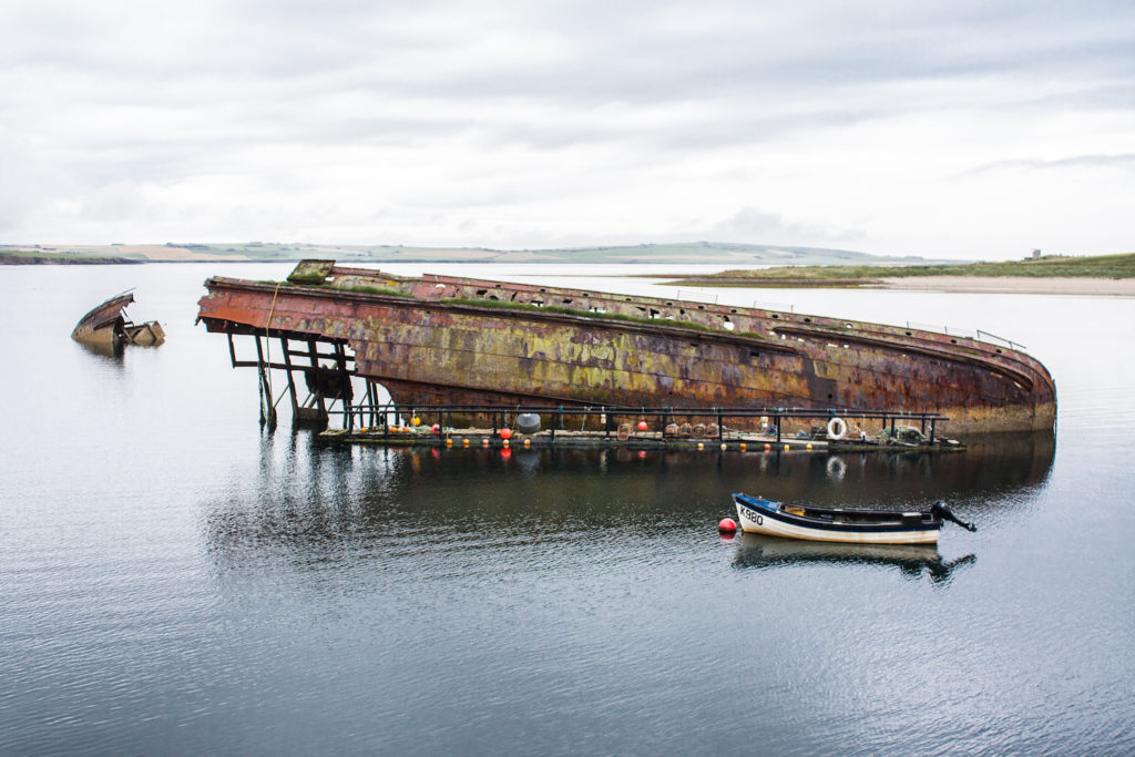Scapa Flow Dive Site Orkney by Shadowgate Flickr