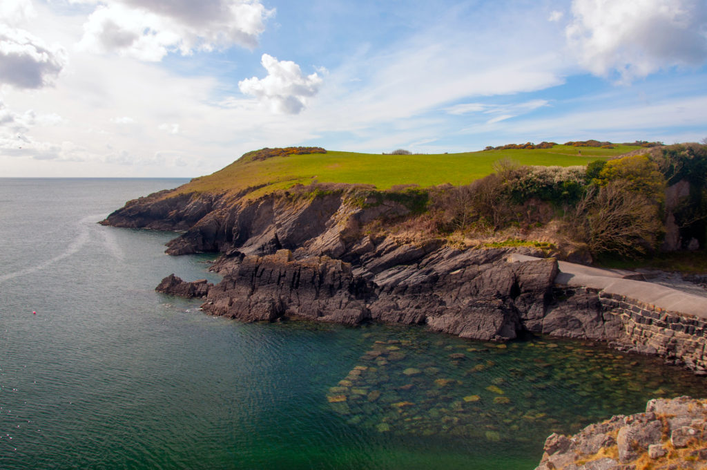 Stackpole Quay Pembrokeshire Wales by FOOTSTEP LOG Shutterstock