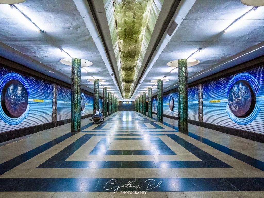 Tashkent metro Uzbekistan Cynthia Bil