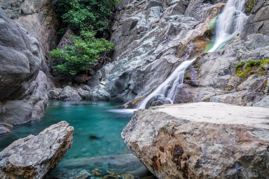 Waterfall Xiropotamos Samothráki Northern Greece by GoGri Shutterstock