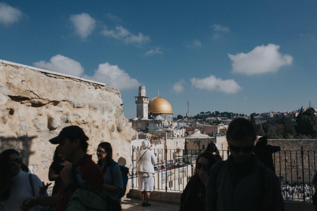 Jerusalem is on the green list