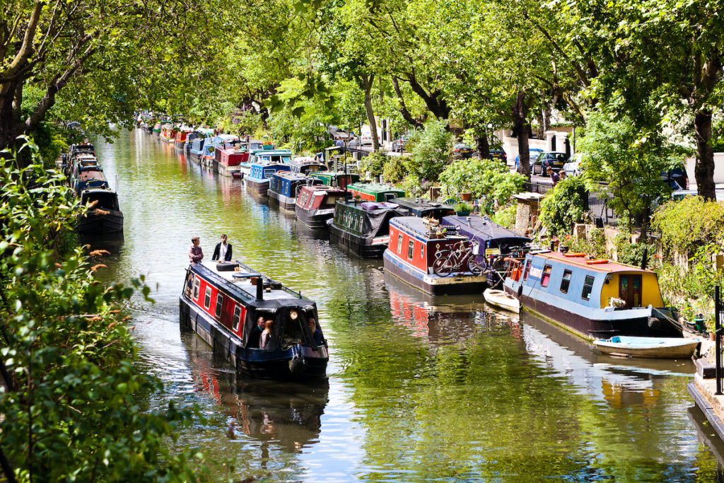 Regent's Canal London by Will Rodrigues Shutterstock
