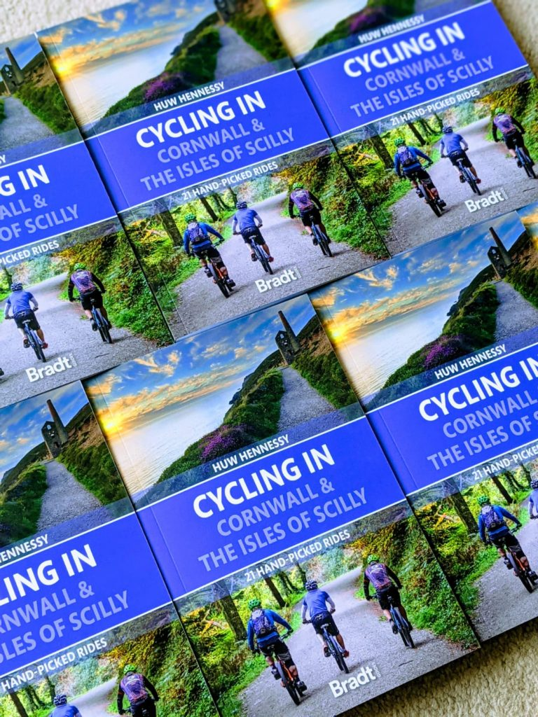 Cycling in Cornwall & the Isles of Scilly by Huw Hennessey