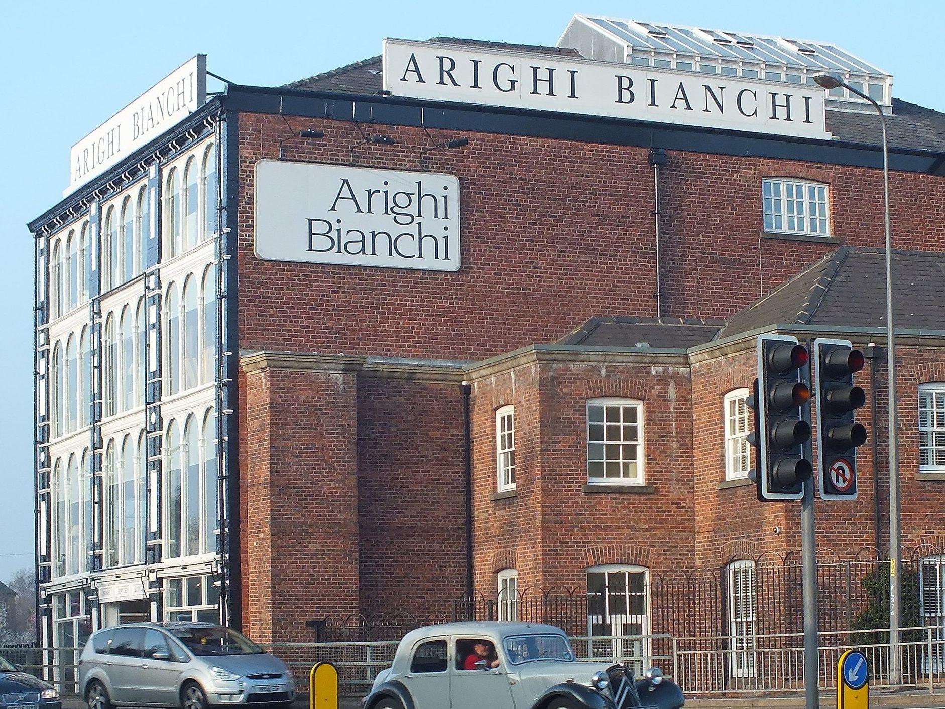 Arighi Bianchi furniture store, Macclesfield, Clem Rutter, Wikimedia Commons