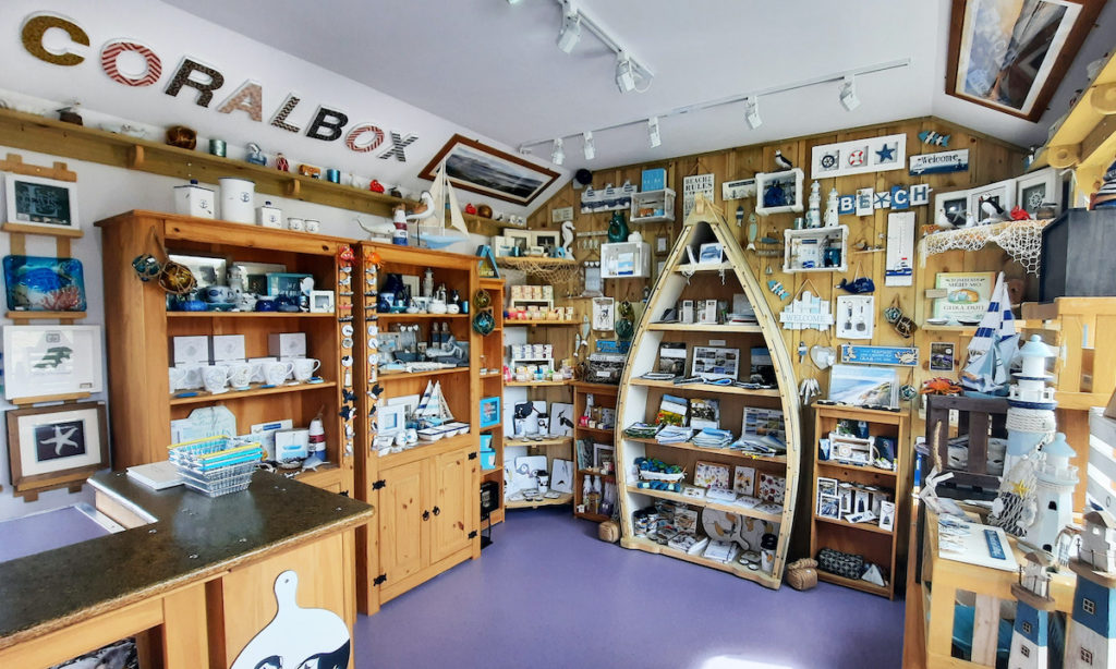 Coralbox Gift Shop Berneray Outer Hebrides by Eilidh Carr Coralbox Gift Shop