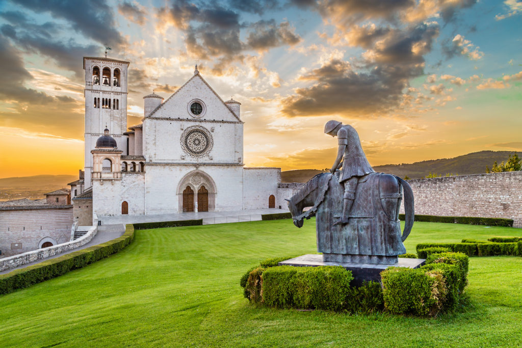 St Francis Basilica Assisi Umbria by canadastock Shutterstock