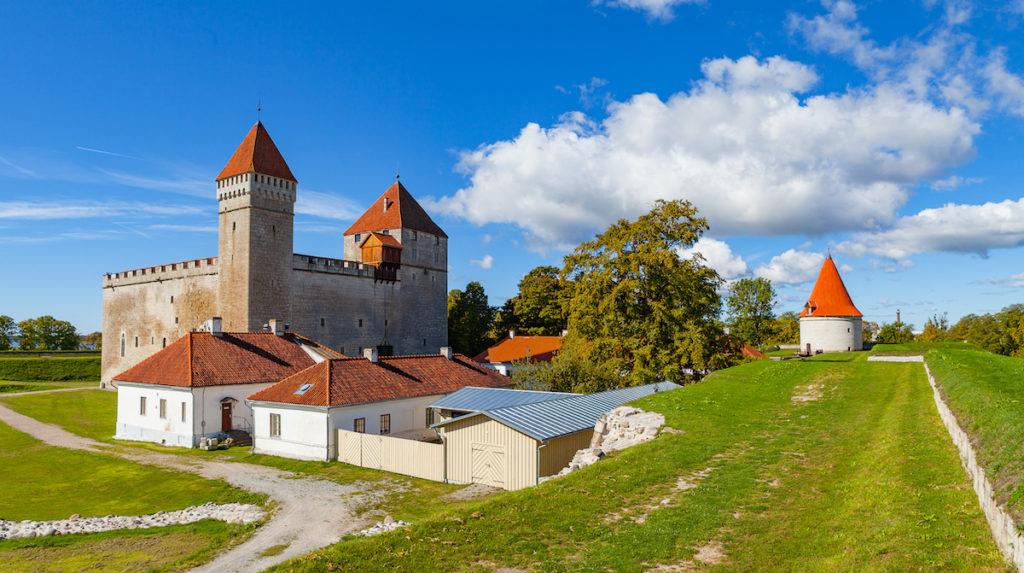 Kuressaare Castle Estonia by yegorovnick Shutterstock