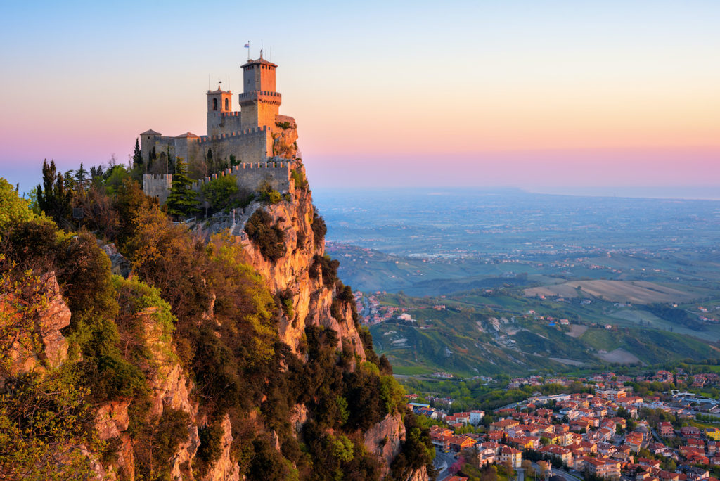 San Marino by Boris Stroujko Shutterstock