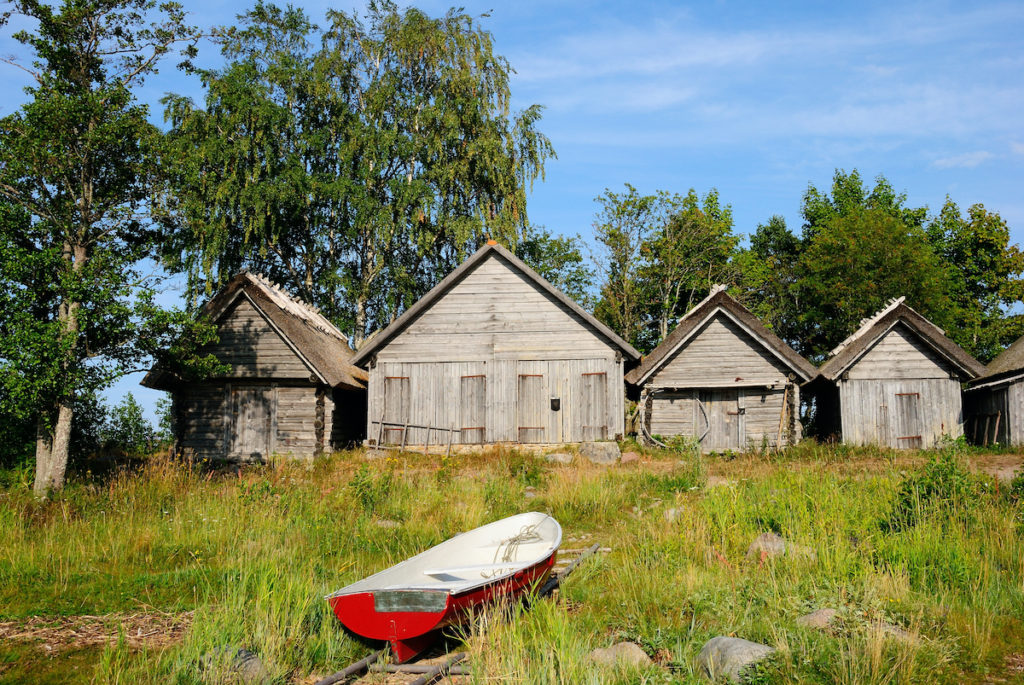 Altja Village Lahemaa National Park Estonia by Nina Alizada Shutterstock