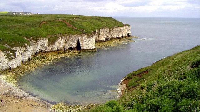 North Landing, Flamborough Head, North Yorkshire, Scott Rimmer, Wikimedia