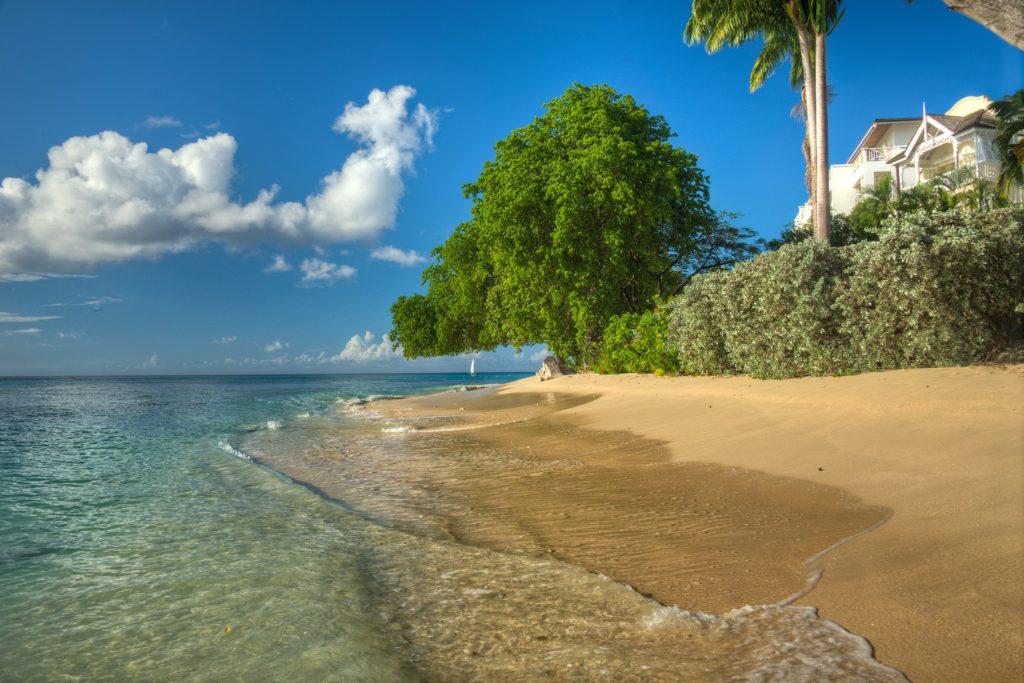 Paynes Bay Beach, Barbados by Barry haynes, Wikimedia Commons