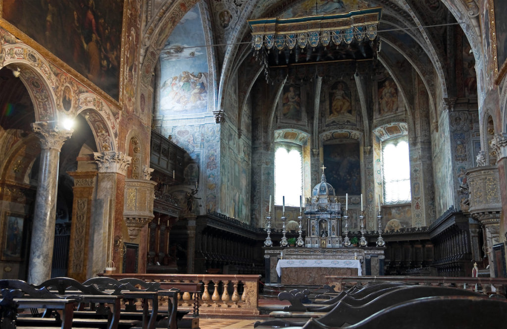 Basilica di San Pietro interior Perugia Umbria by Miti74 Shutterstock