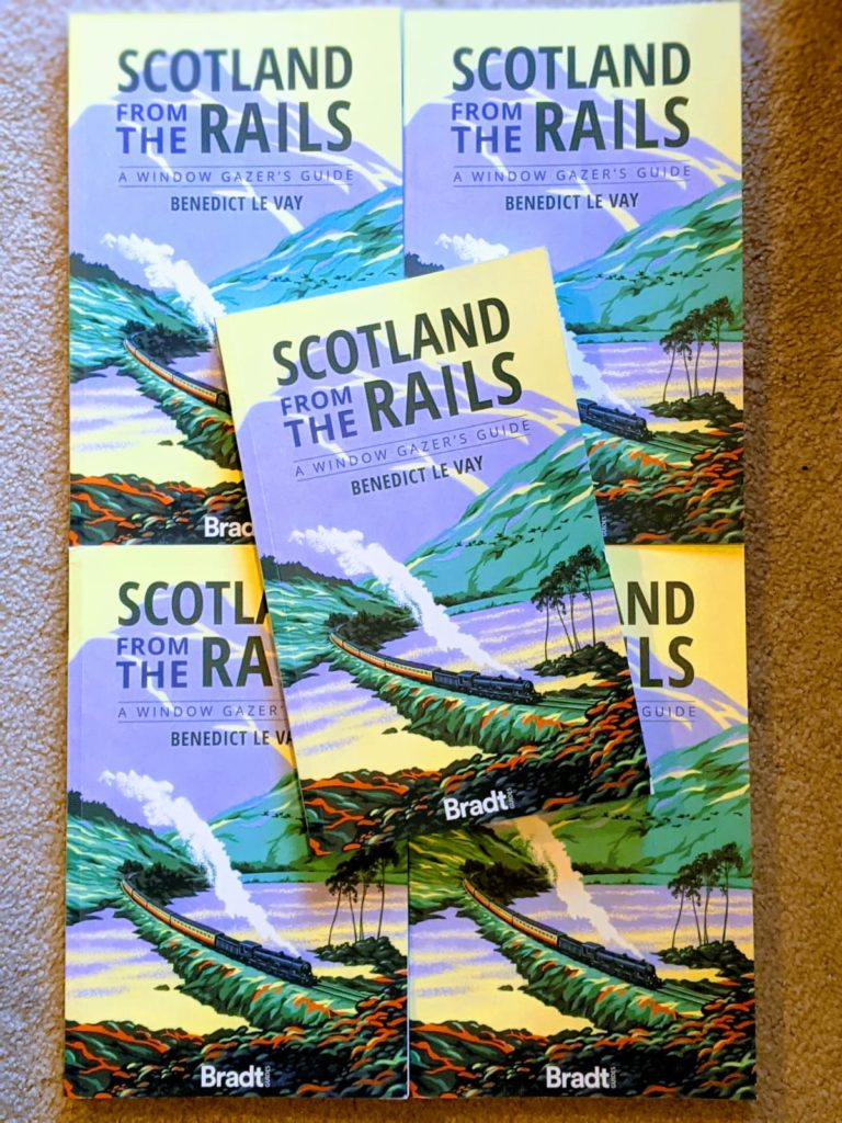 Scotland From the Rails by Benedict Le Vay