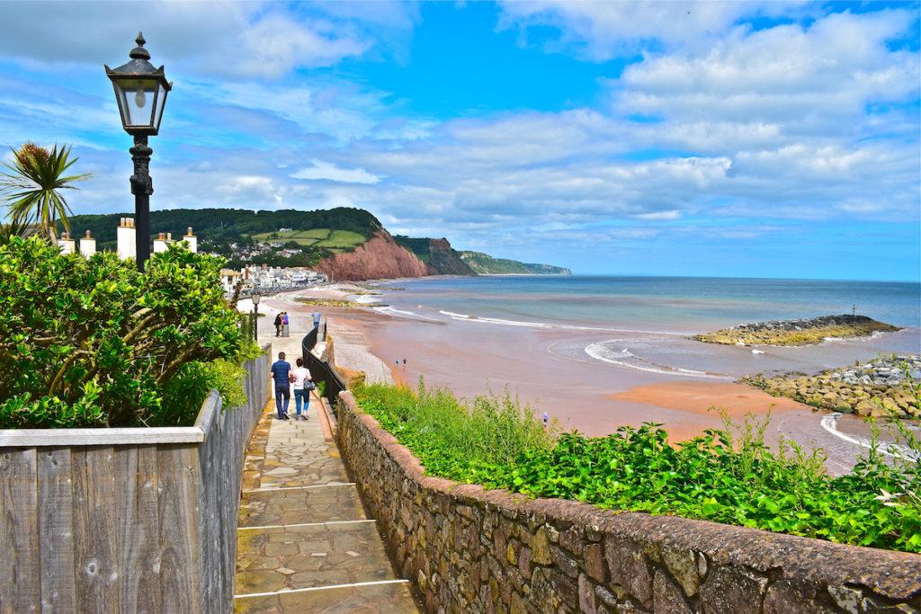 Sidmouth Devon by Colin Burdett Shutterstock